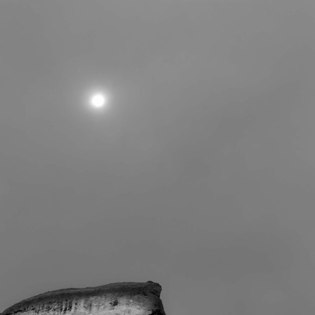 Cloudy day in canyonlands