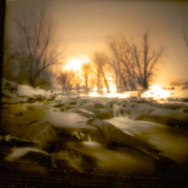 Clear Creek Sunrise Pinhole